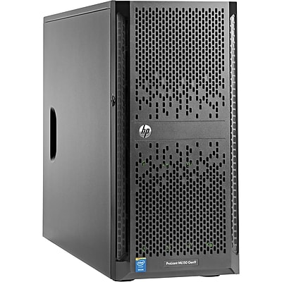 HP ProLiant ML150 G9 5U Tower Server, 2 x Intel Xeon E5-2640 v4 Deca-core (10 Core) 2.40 GHz, 32 GB Installed DDR4 SDRAM