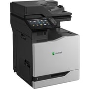 Lexmark CX825DE Laser Multifunction Printer, Color, Plain Paper Print, Floor Standing