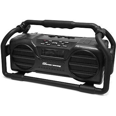PyleHome PJSR350BK Speaker System, 100 W RMS, Portable, Battery Rechargeable, Wireless Speaker (s), Black (PJSR350BK)