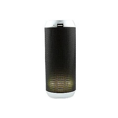 CYCLONESOUND LIGHTNING Speaker System, 6 W RMS, Portable, Battery Rechargeable, Wireless Speaker(s), Silver (CY-LFLAS-005)