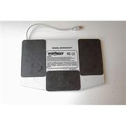 Wetkeys Waterproof Pro-grade Mid-size Keyboard w/Touchpad (Magnetic USB Black)