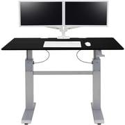Ergotron WorkFit-DL 60, Sit-Stand Desk (Black)