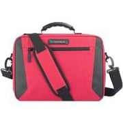"""TechProducts360 Alpha Carrying Case for 11"""" Business Card, Supplies, Portable Computer, Netbook, Red"""