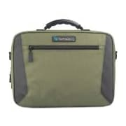 """TechProducts360 Alpha Carrying Case for 11"""" Business Card, Supplies, Portable Computer, Netbook, Green"""