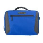 "TechProducts360 Alpha Carrying Case for 11"" Business Card, Supplies, Portable Computer, Netbook, Blue"