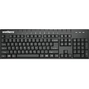 Wetkeys Waterproof Professional-grade Full-size Keyboard w/Number-pad USB Black