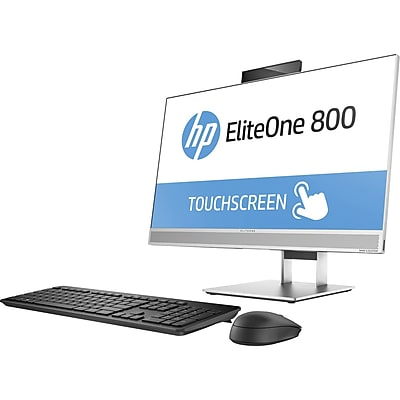HP EliteOne 800 G3 All-in-One Computer, Intel Core i7 (7th Gen) i7-7700 3.60 GHz, 8 GB DDR4 SDRAM, 256 GB SSD