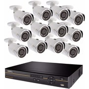 Q-see 16-Channel Analog HD DVR Security System with (12) 4MP Cameras and 2TB HDD