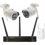 Q-see 4-Channel Wi-Fi NVR with (2) 3MP Wi-Fi Bullet Cameras with 1TB HDD and Wi-Fi Extension