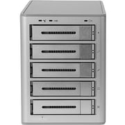 Rocstor Rocsecure DE52 30TB Encryption DAS Array, Real-time Hardware AES-256 Encryption, 5 x HDD Supported, 5 x HDD Installed