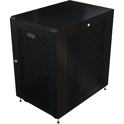 StarTech.com Server Rack Cabinet, 18U, 31in Deep Enclosure, Network Cabinet, Rack Enclosure Server Cabinet, Data Cabinet