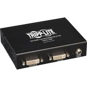 Tripp Lite DVI Over Cat5/Cat6 Video Extender Splitter 4-Port Transmitter 200'