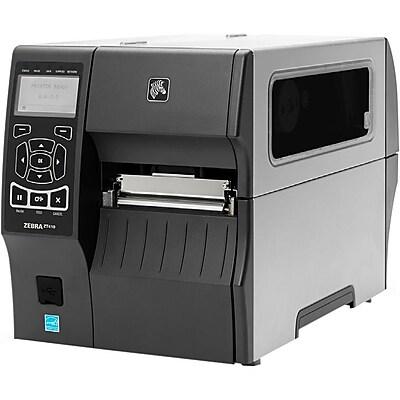 Zebra ZT410 Direct Thermal/Thermal Transfer Printer, Monochrome, Desktop, RFID Label Print