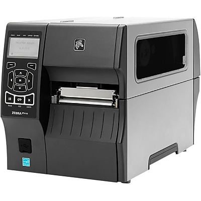 Zebra ZT410 Direct Thermal/Thermal Transfer Printer, Monochrome, Desktop, Label Print (ZT41043-T110000Z)
