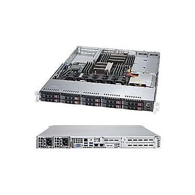 Supermicro SuperServer 1028R-WTRT Barebone System, 1U Rack-mountable, Intel C612 Express Chipset