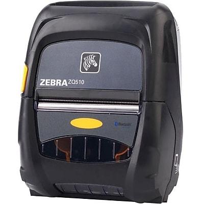 Zebra ZQ510 Direct Thermal Printer, Monochrome, Portable, Receipt Print