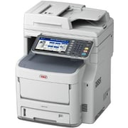 Oki MB770+ LED Multifunction Printer, Monochrome, Plain Paper Print, Desktop