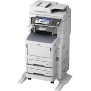 Oki MB770f+ LED Multifunction Printer, Monochrome, Plain Paper Print, Floor Standing