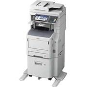 Oki MB770fx+ LED Multifunction Printer, Monochrome, Plain Paper Print, Floor Standing