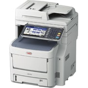 Oki MC770+ LED Multifunction Printer, Monochrome, Plain Paper Print, Desktop
