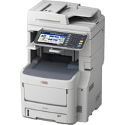 Oki MC780+ LED Multifunction Printer, Color, Plain Paper Print, Desktop