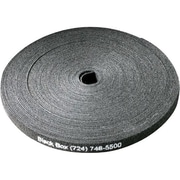 "Black Box Hook and Loop Bundle Wrap, 5/8"" (1.5-cm) Wide, Black, 75-ft.(22.8-m)"