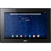 """Acer ICONIA Tab 10 A3-A30-132G Refurbished 10.1"""" Tablet, WiFi, 16GB (Android), Black/Blue (NT.L9YAA.002)"""
