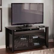 Latitude Run Wentworth 46'' TV Stand; Classic Black