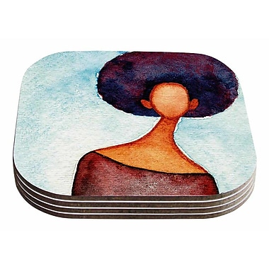 East Urban Home Stacey Ann 'Cole A Sense Of Self' Coaster (Set of 4)