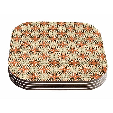 East Urban Home Mayacoa Studio 'Geometric Tile' Geometric Coaster (Set of 4)