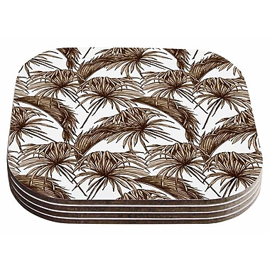 East Urban Home Palmtastic' Abstract Coaster (Set of 4)