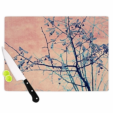 East Urban Home Ingrid Beddoes Glass 'Sweetgum Tree' Cutting Board; 0.25'' H x 15.75'' W x 11.5'' D