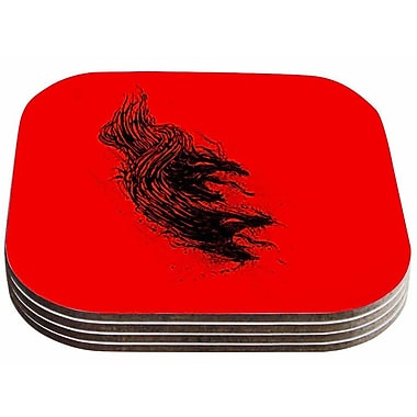 East Urban Home BarmalisiRTB 'Came From Hell' Digital Coaster (Set of 4)