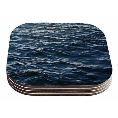 East Urban Home Suzanne Carter 'Deep Water' Nautical Coaster (Set of 4)