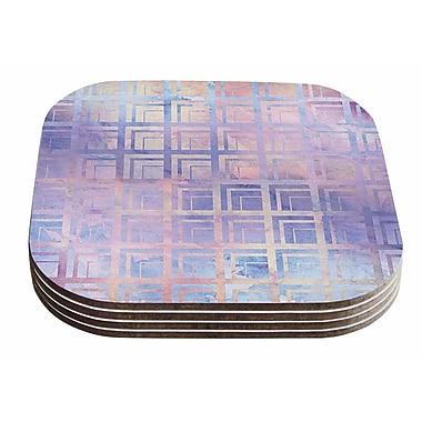 East Urban Home Matt Eklund 'Tiled Dreamscape' Coaster (Set of 4)