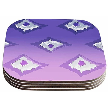 East Urban Home Alison Coxon 'Ombre' Ikat Coaster (Set of 4)