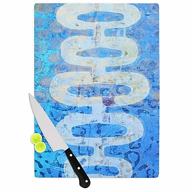 East Urban Home AlyZen Moonshadow Glass 'Arcane 1 Abstract' Cutting Board