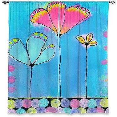 Zoomie Kids Corey China Carnella's Window After All That Room Darkening Curtain Panels (Set of 2)
