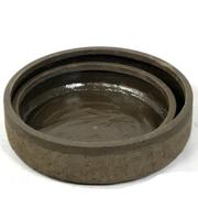 ACCENTS BY DESIGN Clement 2 Piece Polyresin Pot Planter Set