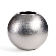 ACCENTS BY DESIGN Cagliari Leaf Round Polyresin Pot Planter