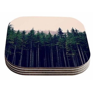 East Urban Home Robin Dickinson 'Emerson' Photography Coaster (Set of 4)