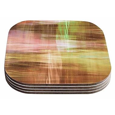 East Urban Home Ebi Emporium 'Blurry Vision 5 Painting Coaster (Set of 4)