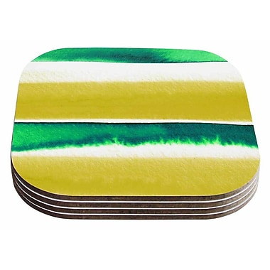 East Urban Home Ebi Emporium 'Summer Vibes 3' Coaster (Set of 4)