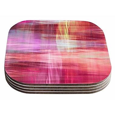 East Urban Home Ebi Emporium 'Blurry Vision 4 Painting Coaster (Set of 4)
