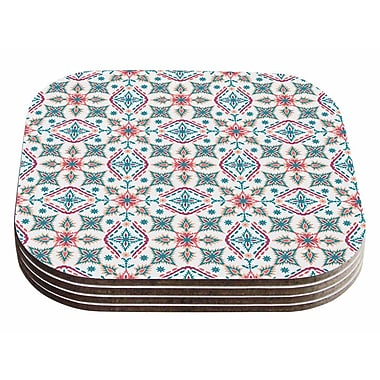 East Urban Home Nandita Singh 'Moroccan Beauty' Ethnic Arabesque Coaster (Set of 4)