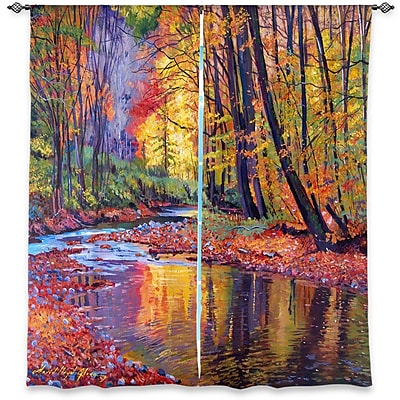 Loon Peak Canterbury David Lloyd Glover's Autumn Prelude Room Darkening Curtain Panels (Set of 2)