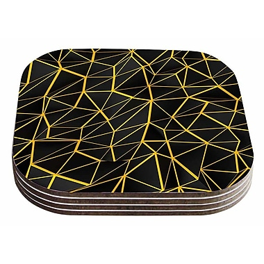 East Urban Home Danny Ivan 'Poly' Coaster (Set of 4)