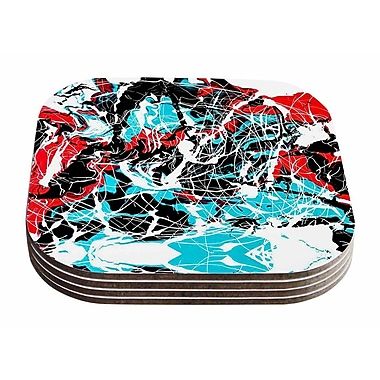 East Urban Home Bruce Stanfield 'Embryo' Coaster (Set of 4)