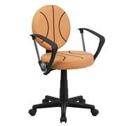 Zoomie Kids Lynda Basketball Mid-Back Kids Desk Chair; Included