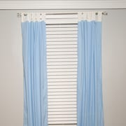 Zoomie Kids Darla Solid Semi-Sheer Tap Top Curtain Panel